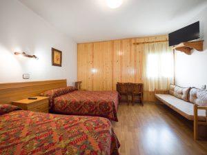 habitacion doble, hostal pirineos